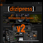 DiziPress v2 WordPress Dizi Teması